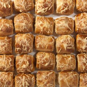 Croissants minis salats